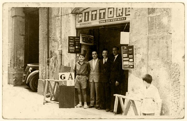 Origini del Gruppo Silvestrini - Anni '50